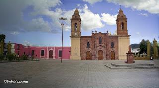Plano de la ciudad de Huajuapan de León, Oaxaca